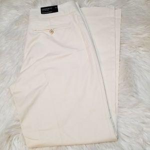 Banana Republic Harrison Fit Ivory Cream Pants 14